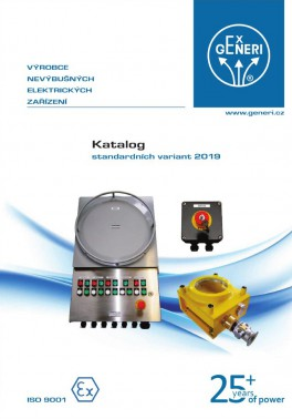 Catalogue of standard versions 2019-CZ